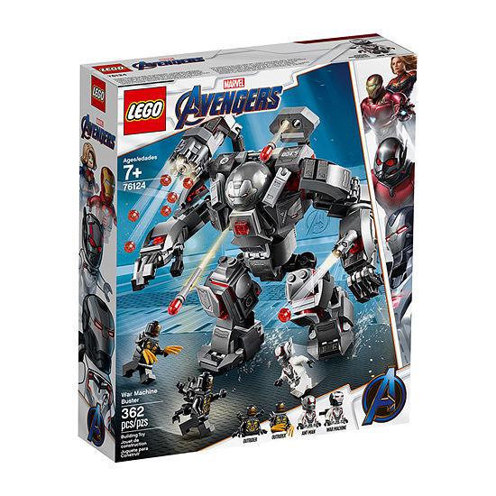 Lego Super Heroes Avengers Endgame War Machine Crusher 76124
