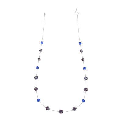 Mixit Fireball Womens Beaded Necklace