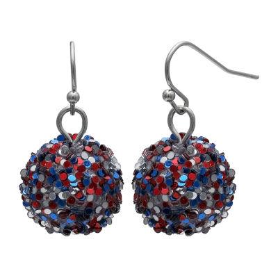 Mixit Fireball Drop Earrings