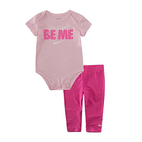 Nike Girls 2-pc. Legging Set-Baby