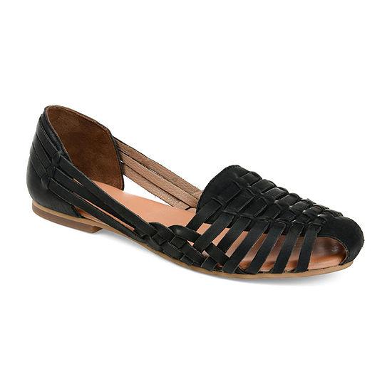 Journee Signature Womens Rilee Flat Sandals