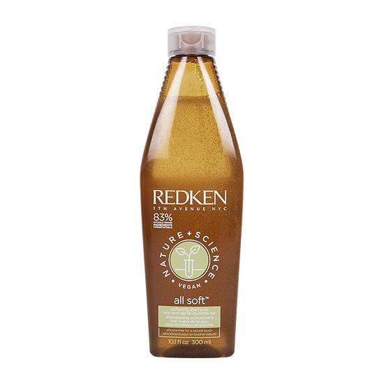 Redken All Soft Naturals Shampoo - 10.1 oz.