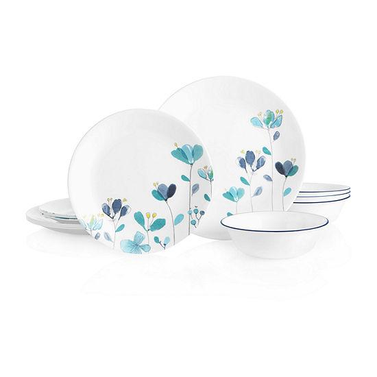 Corelle Mountain Blossoms 12-pc. Dinnerware Set