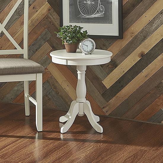 L. Powell Co. Round Table Chairside Table