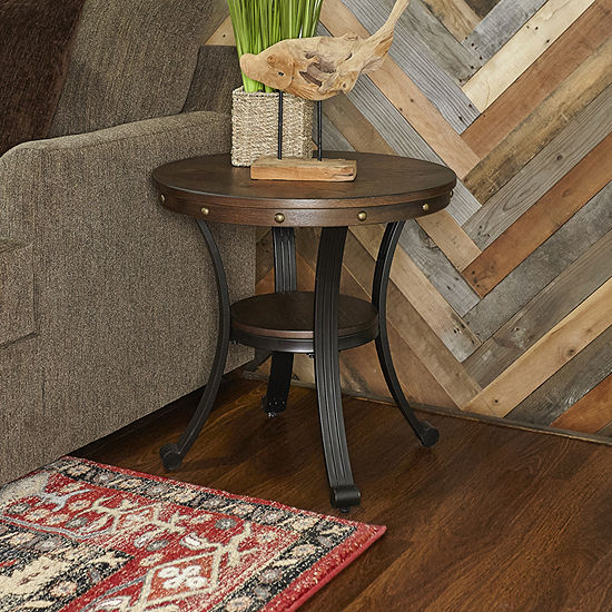 L. Powell Co. Franklin Chairside Table