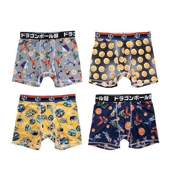 Big Boys Dragon Ball Z Boxer Briefs