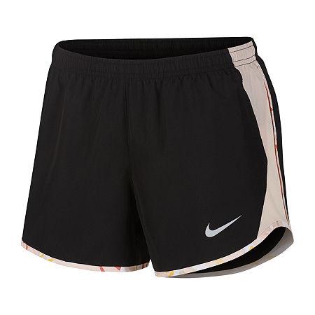 Nike Womens Running Short, Large , Black