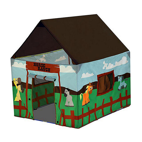 Pacific Play Tents Horse Ranch Playhouse Tent