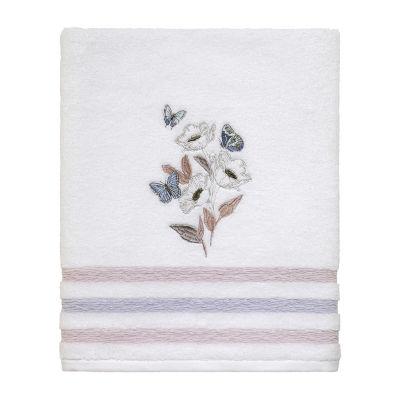 Avanti In The Garden Floral Bath Towel