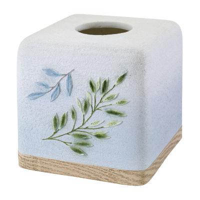 Avanti Ombre Leaves Tissue Box Cover