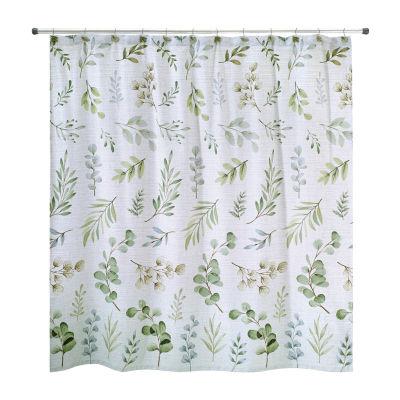 Avanti Ombre Leaves Shower Curtain
