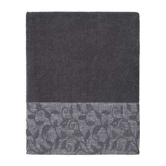 Avanti Linetto Cord Leaf Bath Towel