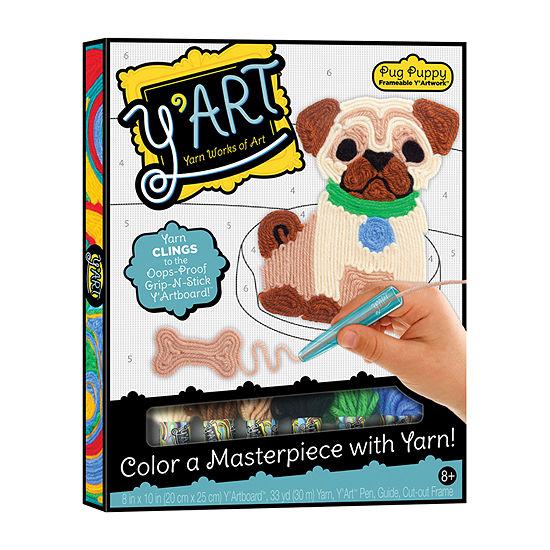 Y'Art  Yarn Works Of Art  Pug Puppy