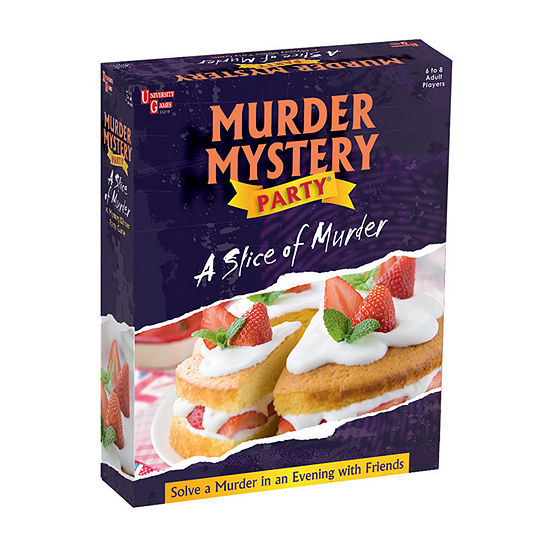 University Games Murder Mystery Party - A Slice Of Murder