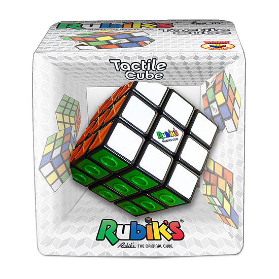 Winning Moves Rubiks Tactile Cube Brain Teaser Puzzle
