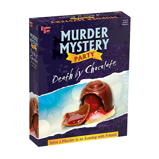 University Games Murder Mystery Party - Death By Chocolate