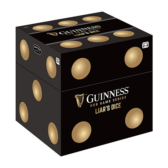 Front Porch Classics Guinness Pub Game Series - Liars Dice Party Game