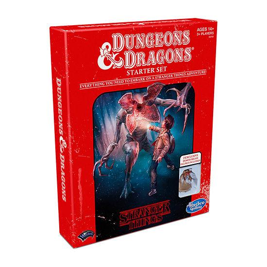 Hasbro Stranger Things Dungeons& Dragons Starter Set