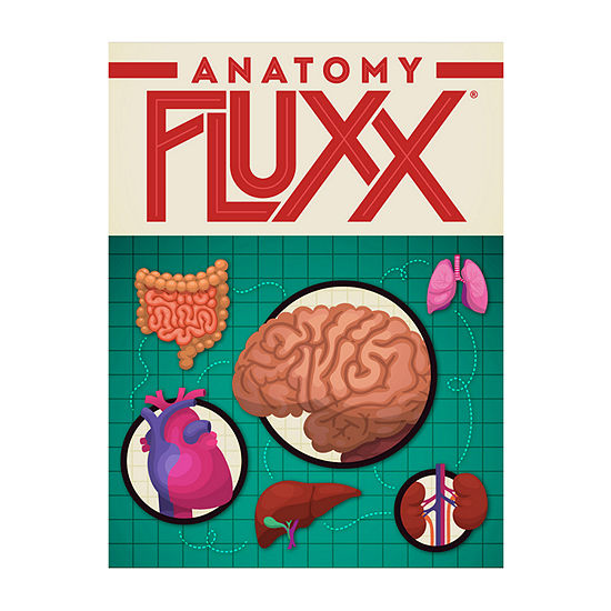Looney Labs Anatomy Fluxx Card Game