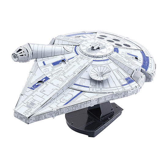 Fascinations Metal Earth Iconx 3d Metal Model Kit - Star Wars Landos Millennium Falcon