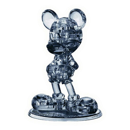 Bepuzzled 3d Crystal Puzzle - Disney Mickey Mouse 2nd Edition 47 Pcs