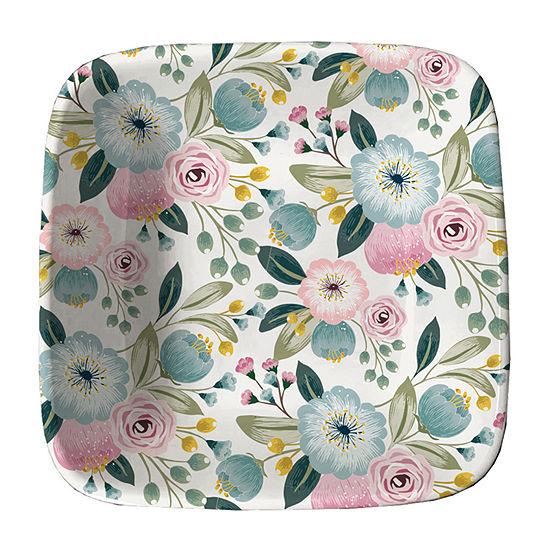 """Nanette Lepore 4.75"""" Floral Trinket Tray"""