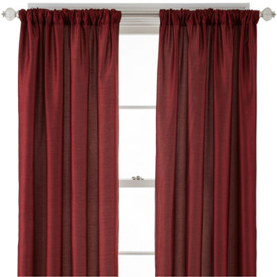Royal Velvet® Encore Rod-Pocket/Back Tab Curtain Panel