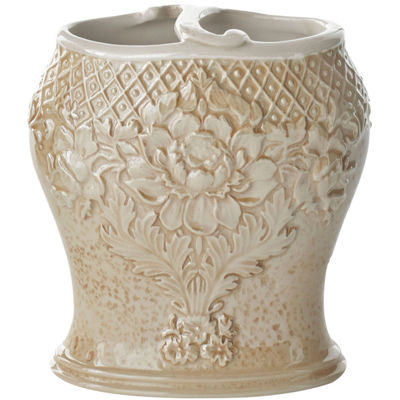 Queen Street® Bianca Damask Toothbrush Holder