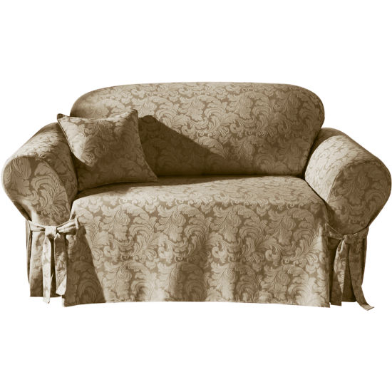 Sure Fit Scroll 1 Pc Sofa Slipcover