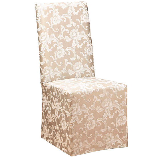 SURE FIT® Scroll 1-pc. Dining Chair Slipcover - Long
