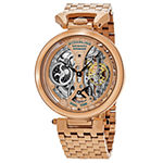 Stuhrling Mens Automatic Rose Goldtone Stainless Steel Bracelet Watch-Sp15834