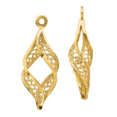 14K Gold Earring Jackets
