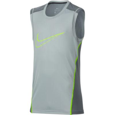Nike Sleeveless Crew Neck T-Shirt-Big Kid Boys