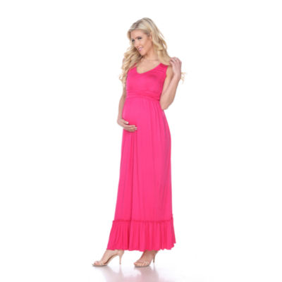 White Mark Maternity 'Harley' Maxi Dress