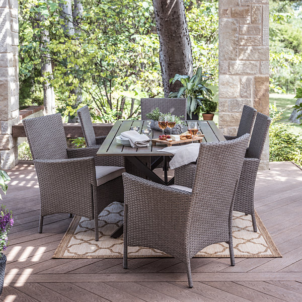 Outdoor Oasis Lakehurst 7 pc Patio Dining Set JCPenney