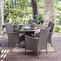 Deals on Outdoor Oasis Lakehurst 7-pc. Patio Dining Set
