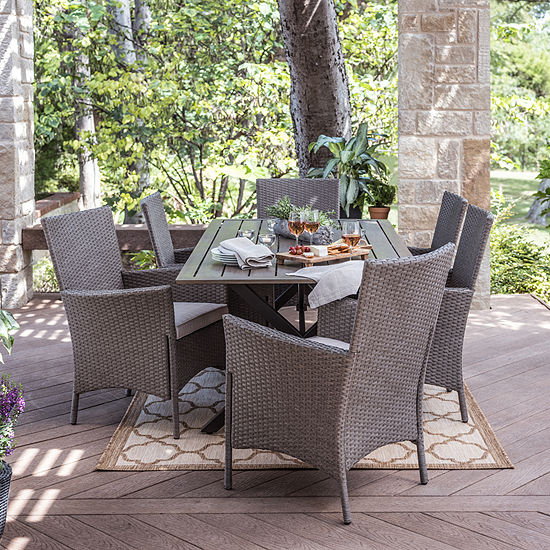 Jcpenney Dining Sets: Outdoor Oasis Lakehurst 7-pc. Patio Dining Set, Color