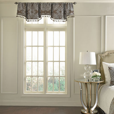 Beautyrest Alexina Rod-Pocket Scallop Valance