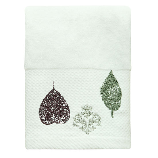 Bacova Guild Seville Leaf Bath Towel