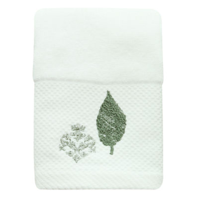 Bacova Guild Seville Embroidered Damask + Scroll Bath Towel