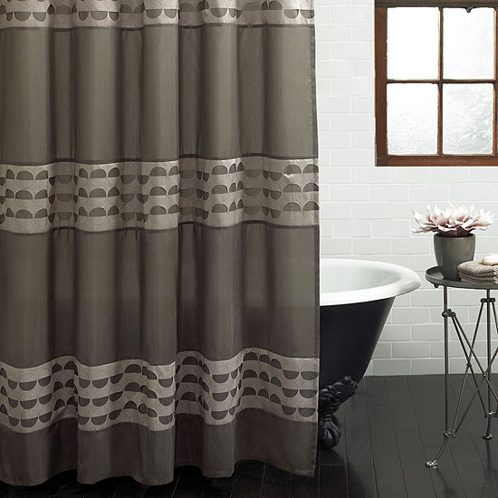 Excell Home Fashions Piper Shower Curtain