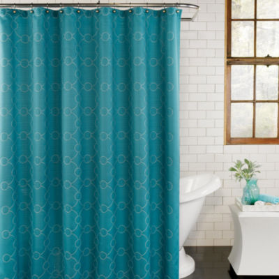Excell Home Fashions Skylar Shower Curtain