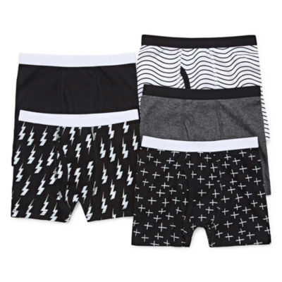 Okie Dokie 5 Pair Boxer Briefs Toddler Boys