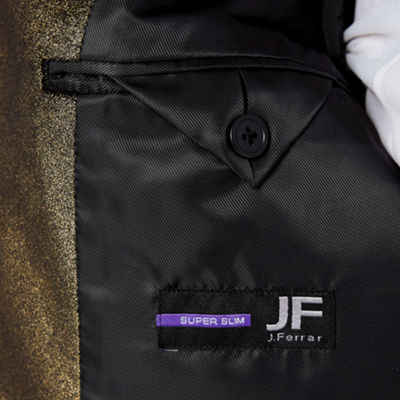 JF J.Ferrar Super Slim Fit Tuxedo Jacket - Slim