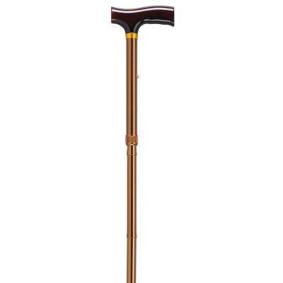 Lightweight Adjustable Folding Cane with T Handle
