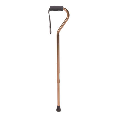 Foam Grip Offset Handle Walking Cane
