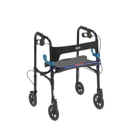"Clever Lite Walker Rollator, Adult, 8"" Wheels"