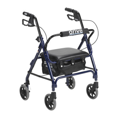 Junior Rollator with Padded Seat