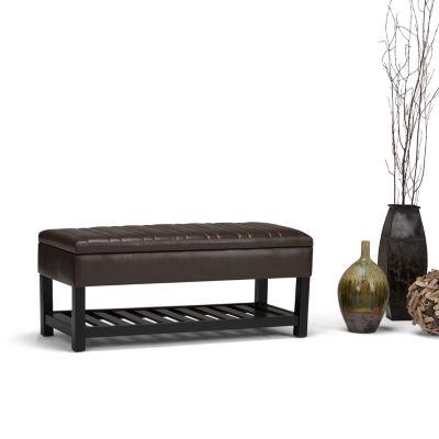 Memphis Storage Ottoman Bench