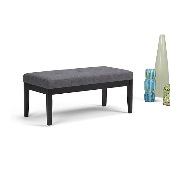 Brilliant Lacey Tufted Ottoman Bench Jcpenney Bralicious Painted Fabric Chair Ideas Braliciousco
